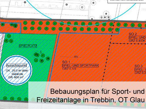 Projekt Sport- und Freizeitanlage
